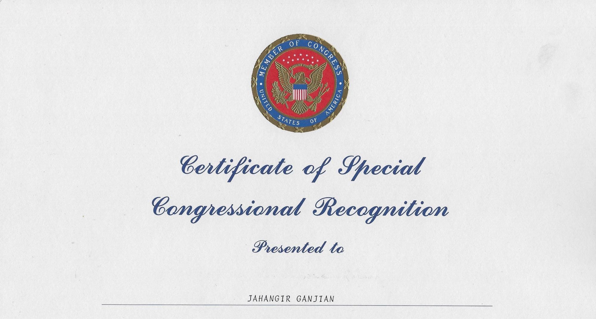 Congressional awards. Congress.